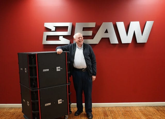 EAW Cofounder Forsythe Returns to Help Build the Future