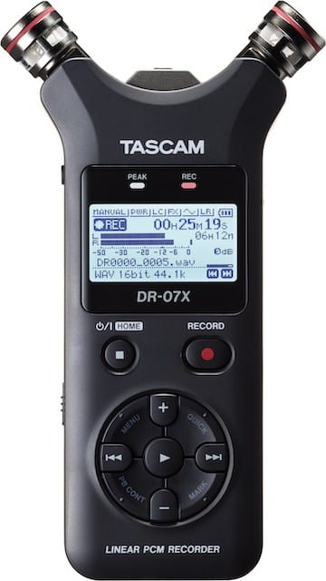 TASCAM Introduces Next Generation DR-X Series Digital Audio Recorder and USB Audio Interface
