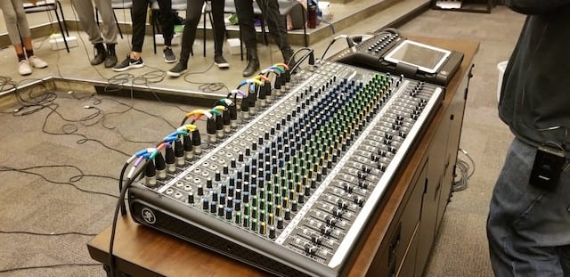 Washington Middle School Student Musicians Shine  with Mackie Mixers and Loudspeakers