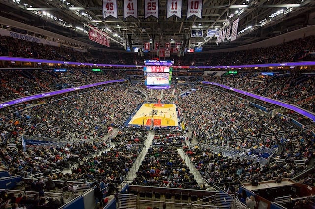 Capital One Arena Scores with EAW Adaptive Systems