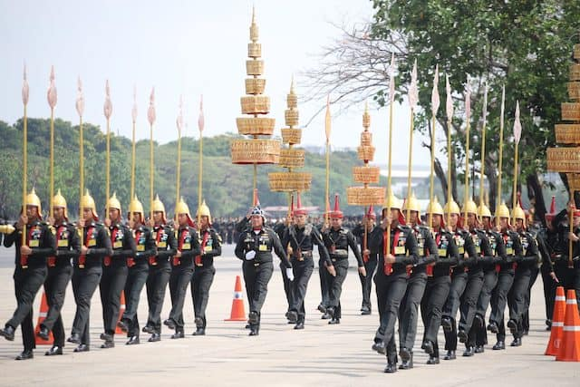 Symetrix Radius the Right Choice for Thailand's Royal Procession on Land