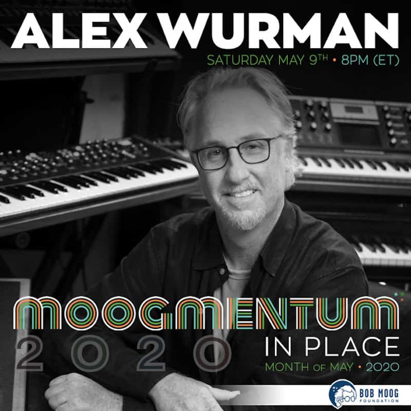 Composer Alex Wurman to Provide Sonic Meditation For All Mothers as Part of Moogmentum in Place